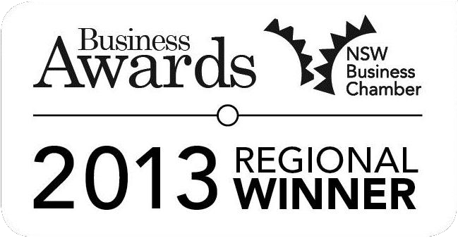 NSW Business Chamber Regional Winner