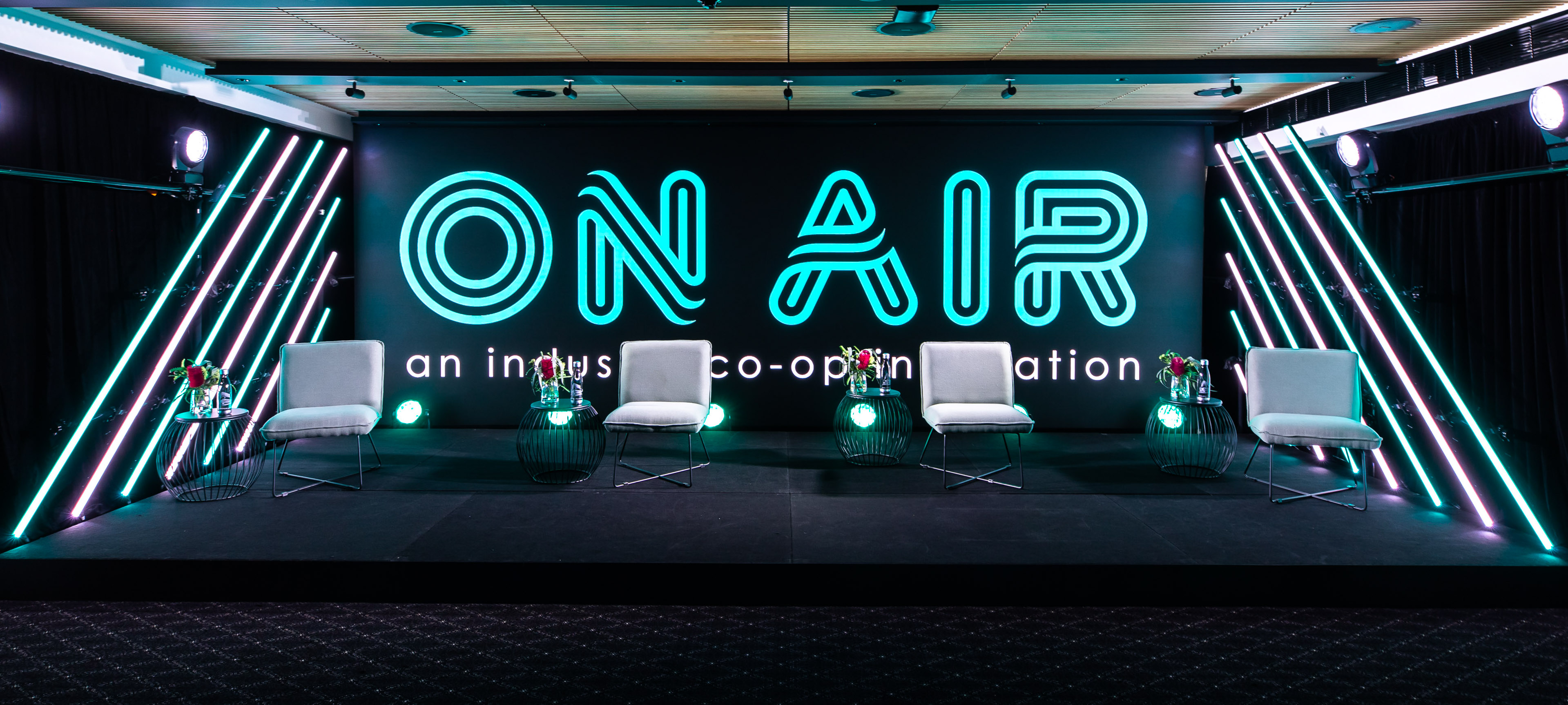 ON AIR is a state of the art semi-permanent studio located in the heart of Sydney's CBD