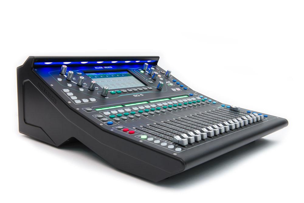 Digital Audio Mixer Hire Sydney : allen heath sq 5 digital mixer hire audio visual events sydney ~ Russianpoet.info Haus und Dekorationen