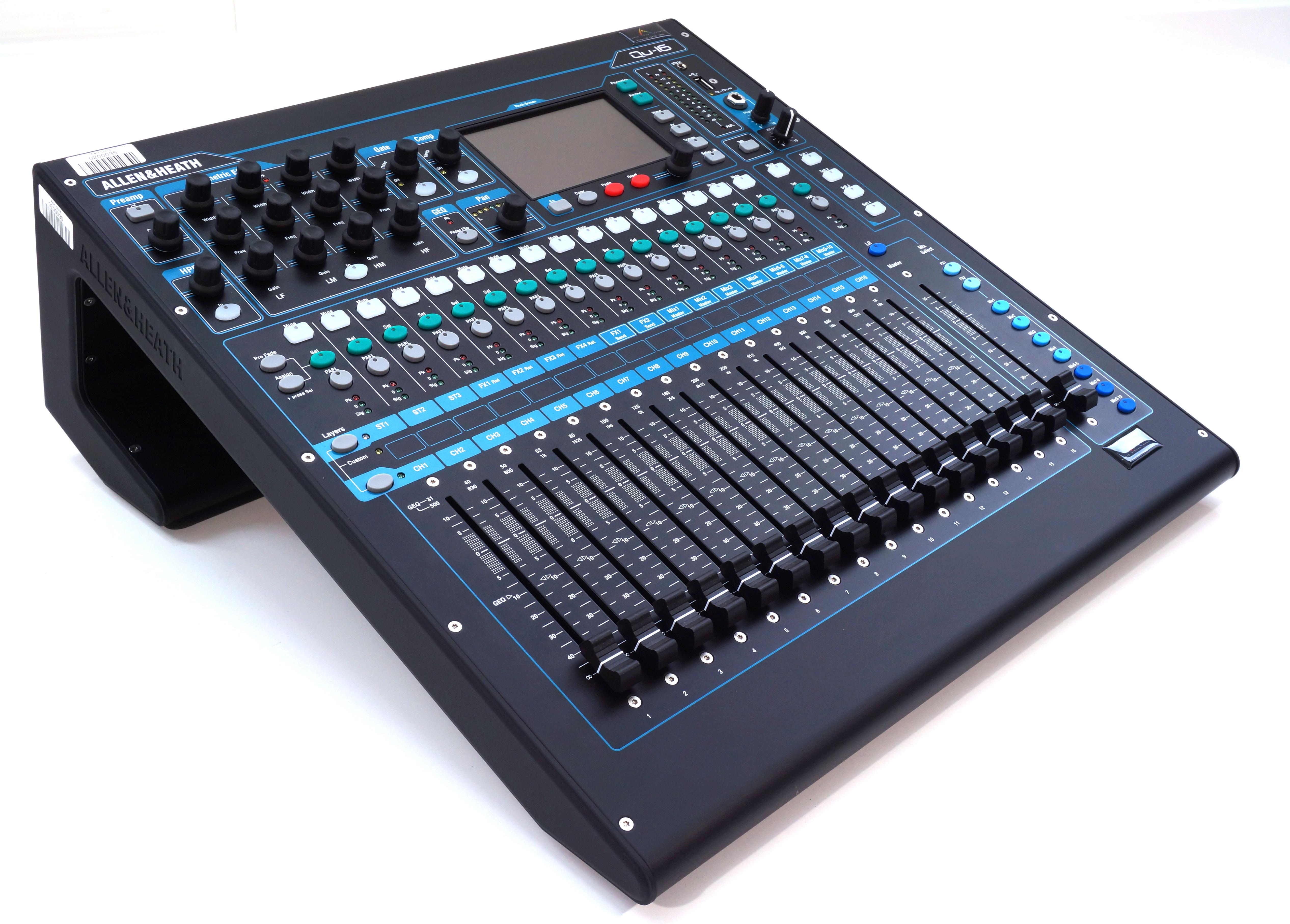 Digital Audio Mixer Hire Sydney : allen heath qu 16 digital mixer audio visual events hire sydney ~ Russianpoet.info Haus und Dekorationen