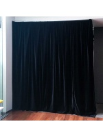 Audio Visual Events Black Velvet Curtain Drape Hire Sydney