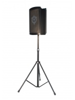 Chiayo Victory 2000 Portable PA System on Speaker Stand Front