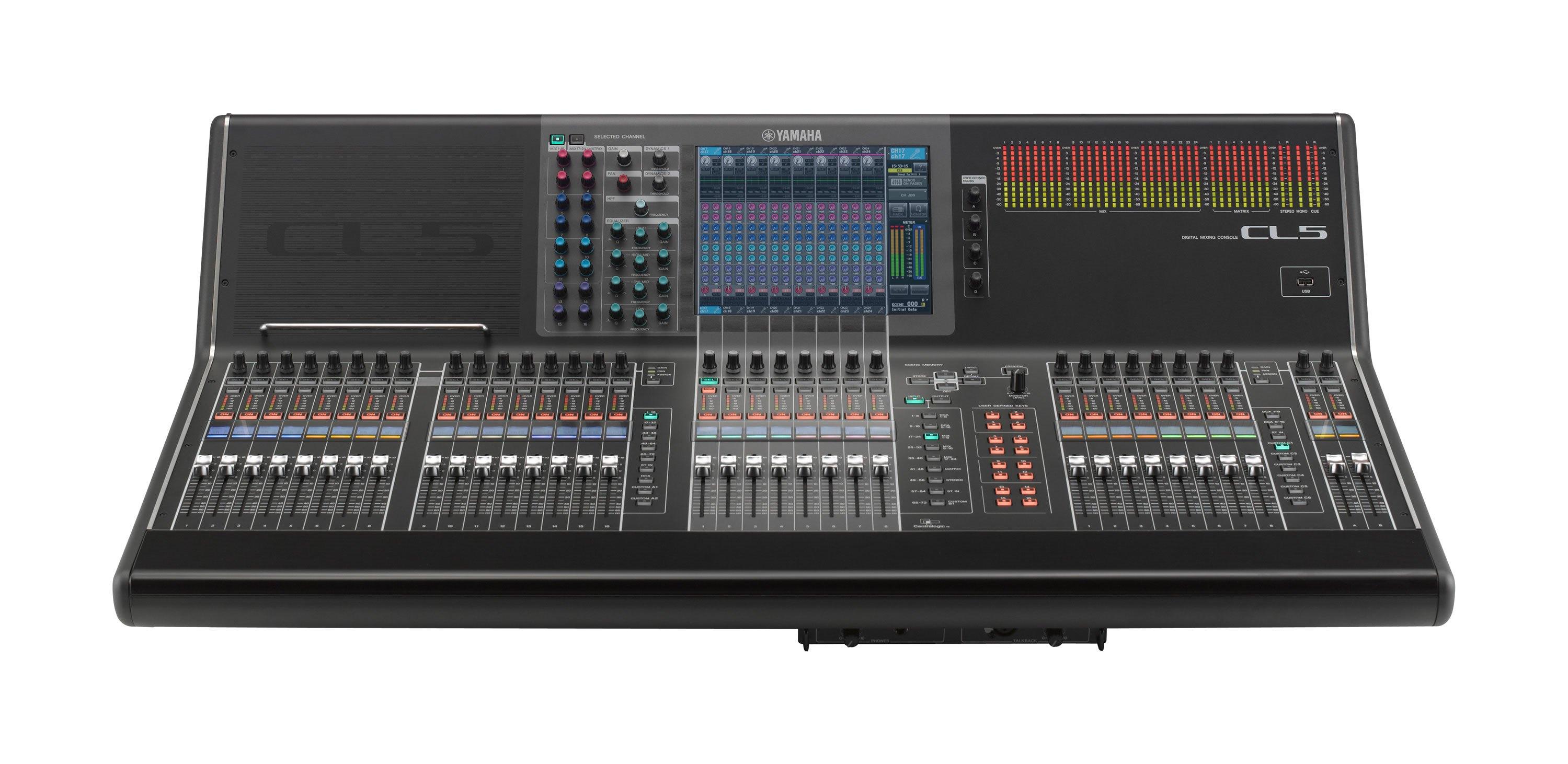 Digital Audio Mixer Hire Sydney : yamaha cl5 digital audio mixer audio visual events hire sydney ~ Russianpoet.info Haus und Dekorationen