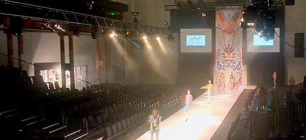 Static Stage Lighting Hire at Carriageworks Eveleigh for TAFE Fashion Event